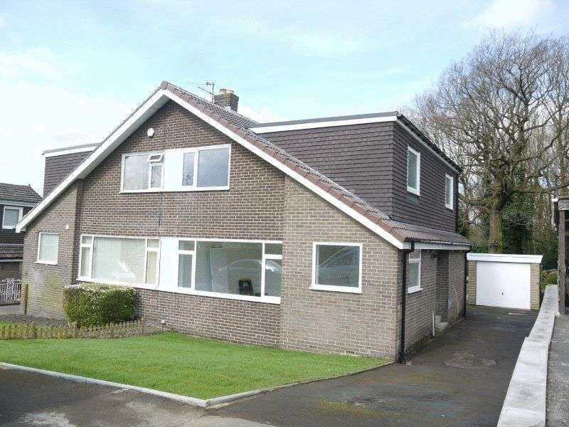 3 Bedrooms Semi Detached House for sale in Brackendale Avenue, Thackley, Bradford BD10 0SQ