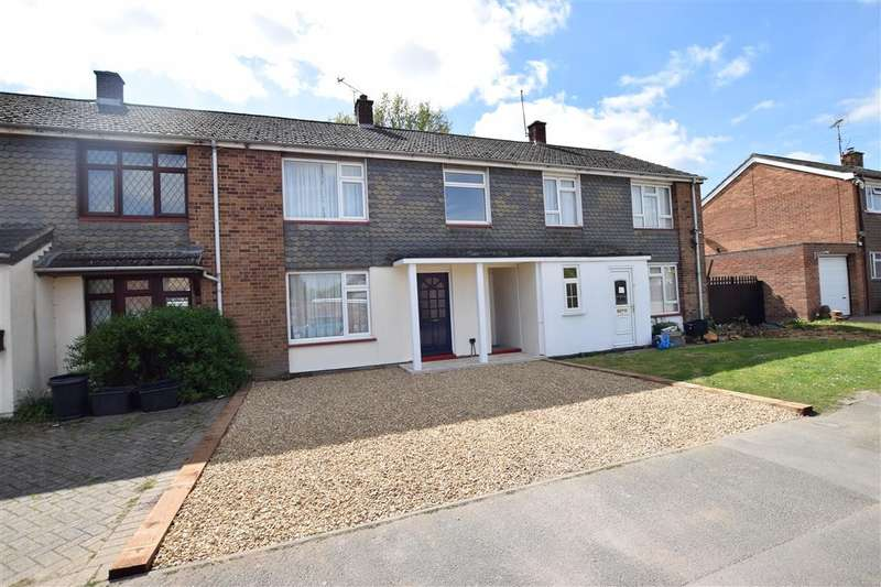 3 Bedrooms Terraced House for sale in Chestnut Crescent, Shinfield, Reading, RG2