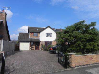 3 Bedrooms Detached House for sale in Harrogate Way, Wigston, Leicestershire