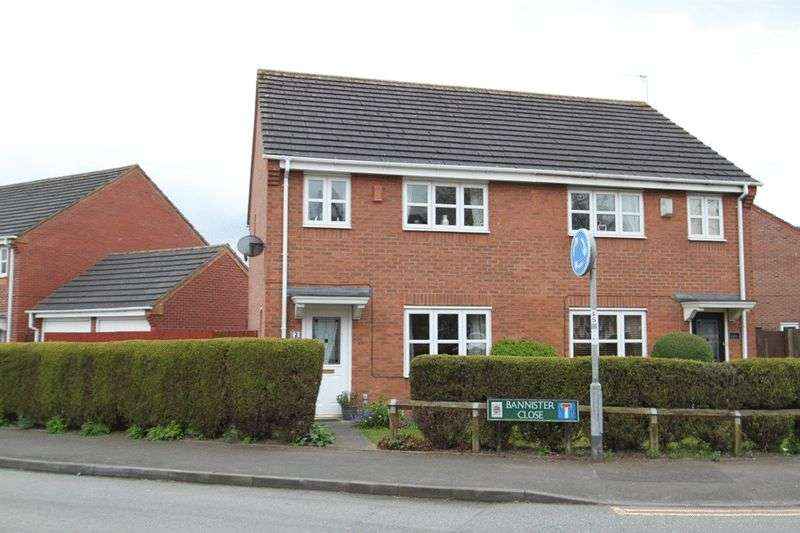 3 Bedrooms Semi Detached House for sale in Bannister Close, Stoke-On-Trent