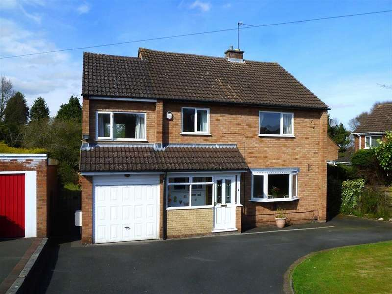 4 Bedrooms Detached House for sale in Holmwood Avenue, Kidderminster, Worcestershire