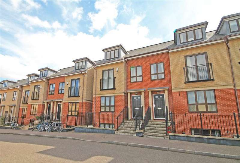 4 Bedrooms Terraced House for sale in St Bartholomews Court, Riverside, Cambridge, CB5