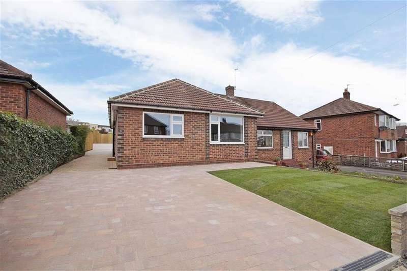 2 Bedrooms Semi Detached Bungalow for sale in Hill Top Close, Harrogate, North Yorkshire