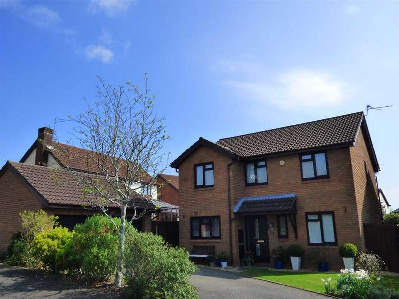 4 Bedrooms Detached House for sale in Mounton Drive, Chepstow