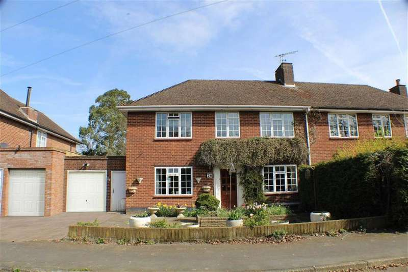 3 Bedrooms Semi Detached House for sale in Oaklands Lane, St Albans, Hertfordshire