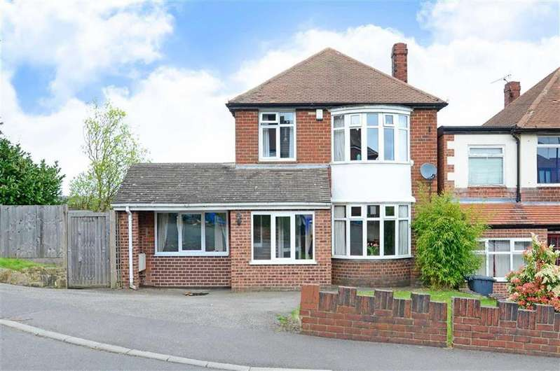 3 Bedrooms Detached House for sale in 56, High Storrs Crescent, High Storrs, Sheffield, S11