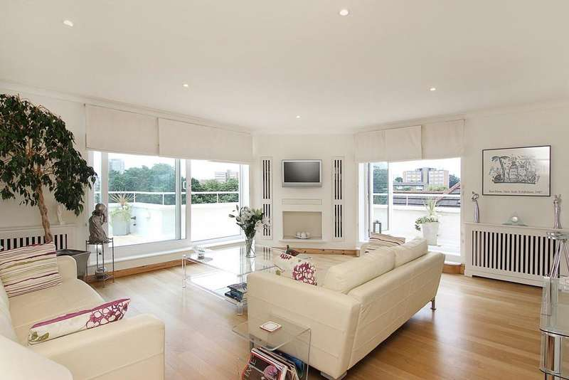 3 Bedrooms Penthouse Flat for sale in West Hill, London