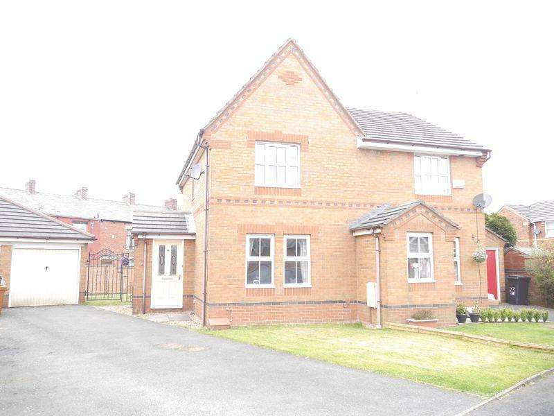 2 Bedrooms Semi Detached House for sale in Whittlewood Drive, Altham.