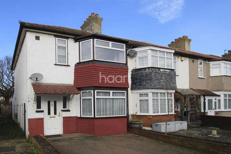 3 Bedrooms End Of Terrace House for sale in Phyllis Avenue, Motspur Park, KT3