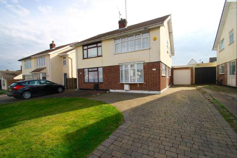 2 Bedrooms Semi Detached House for sale in Sandown Road, Benfleet