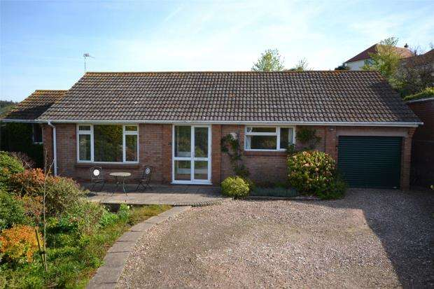 3 Bedrooms Detached Bungalow for sale in Tidwell Close, Budleigh Salterton, Devon