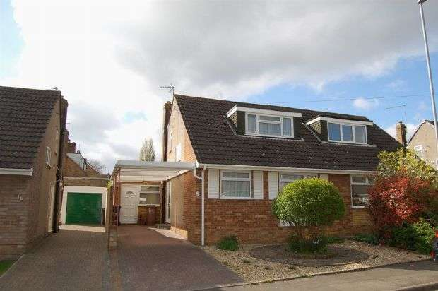 3 Bedrooms Semi Detached Bungalow for sale in Lynmouth Avenue, Abington Vale, Northampton NN3 3LT