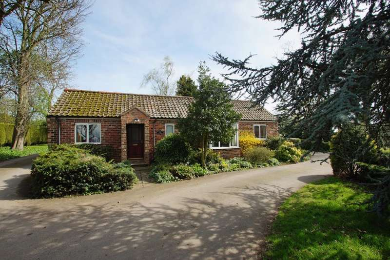 2 Bedrooms Detached Bungalow for sale in The Cottage, Brompton, Northallerton, DL6 2QA