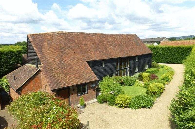 4 Bedrooms Detached House for sale in Leigh, Surrey