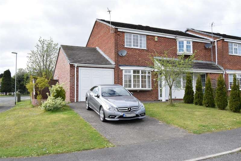 2 Bedrooms Semi Detached House for sale in Chestnut Mews, Berry Hill, Mansfield