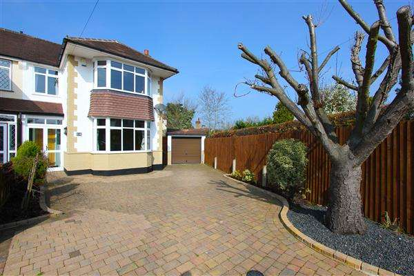 3 Bedrooms Semi Detached House for sale in Tower View, Croydon