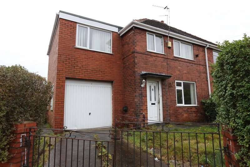 3 Bedrooms Semi Detached House for sale in 7 Weston Road, Irlam