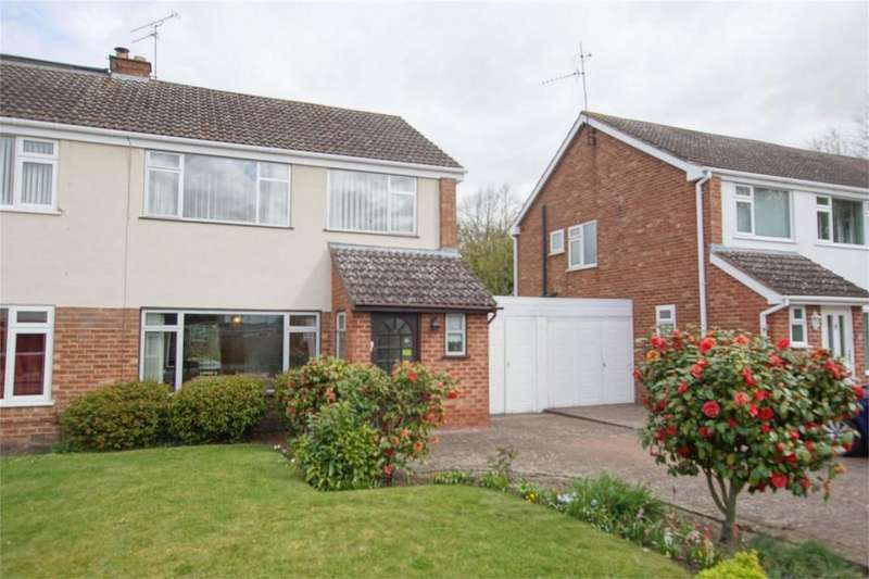 3 Bedrooms Semi Detached House for sale in Leyfields Crescent, Warwick