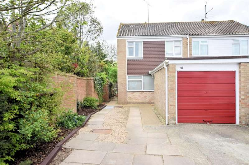 3 Bedrooms Semi Detached House for sale in Wheatfields Road, Shinfield, Reading, RG2