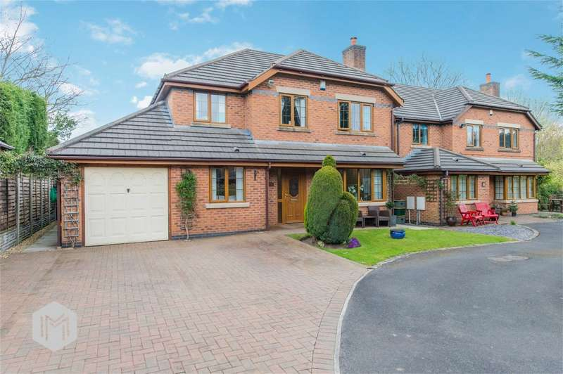 4 Bedrooms Detached House for sale in Ivy House Close, Bamber Bridge, Preston, Lancashire