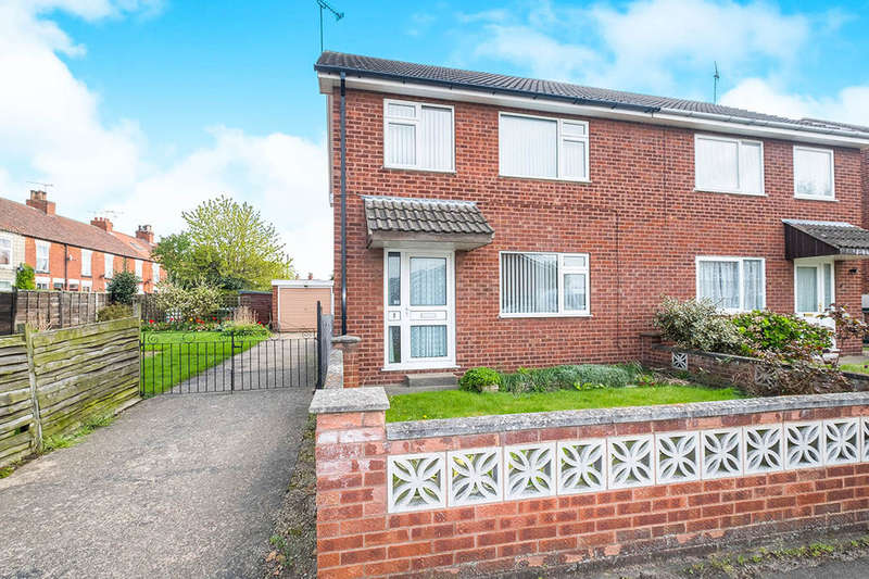 3 Bedrooms Semi Detached House for sale in Whitehall Court, Retford, DN22
