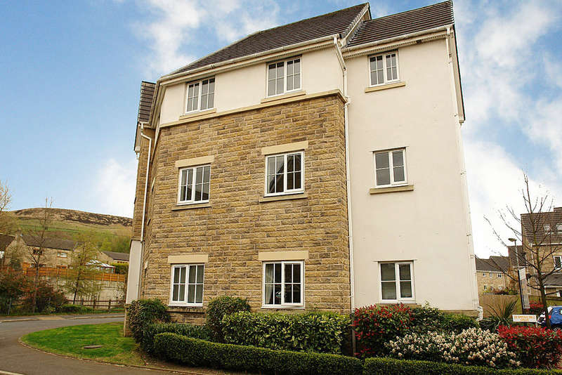 2 Bedrooms Flat for sale in Spring Mill Drive, Mossley