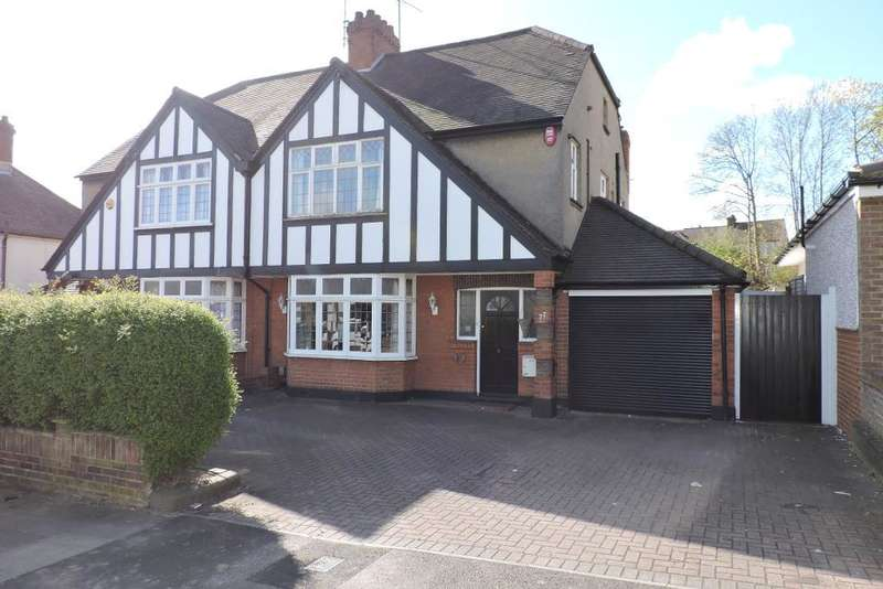 4 Bedrooms Semi Detached House for sale in Montrose Avenue, Luton, Bedfordshire, LU3 1HP