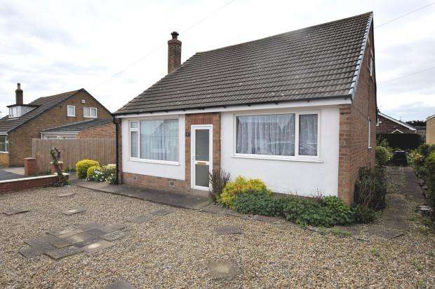 4 Bedrooms Detached Bungalow for sale in Woldview Grove, Crossgates, Scarborough, North Yorkshire YO12 4NA