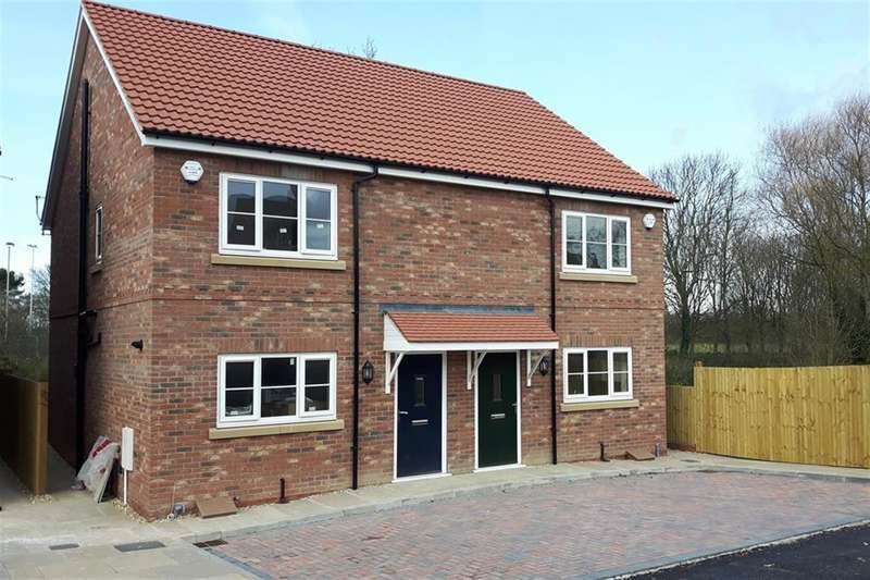3 Bedrooms Semi Detached House for sale in Foss Court, Huntington Road, York, YO31 9YQ