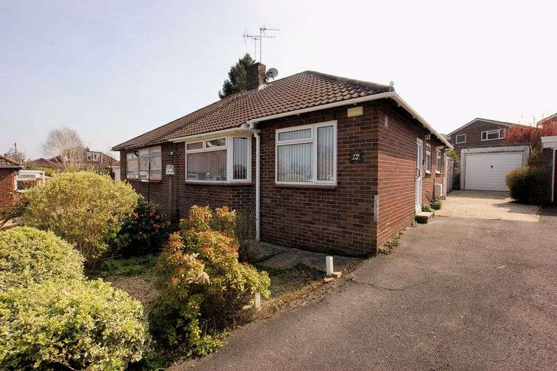 2 Bedrooms Semi Detached Bungalow for sale in Abbots Way, Fareham