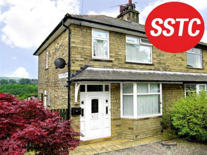 3 Bedrooms Semi Detached House for sale in Woodroyd Gardens, Halifax