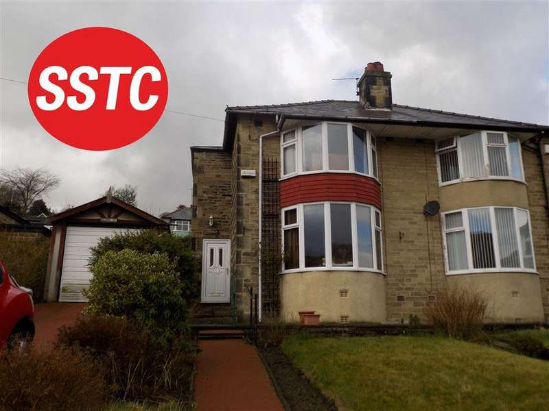 3 Bedrooms Semi Detached House for sale in Lower Park Royd Drive, Halifax