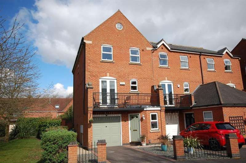 3 Bedrooms Town House for sale in Shaftesbury Avenue, Radcliffe-On-Trent, Nottingham