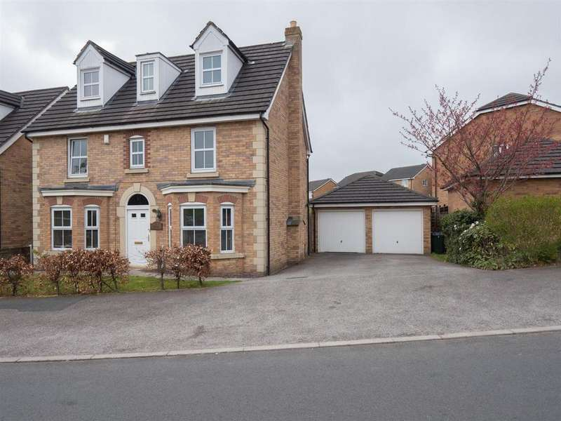 4 Bedrooms Detached House for sale in Brookwater Drive, Shipley BD18 1PY