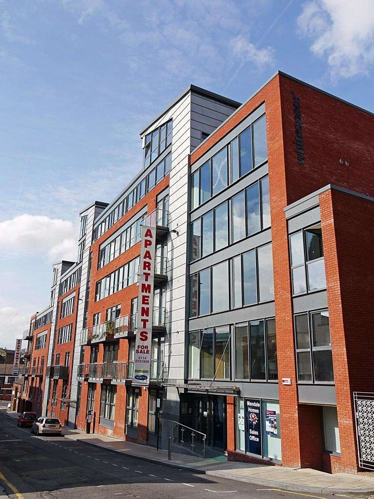 1 Bedroom Apartment Flat for rent in Mandale House, 30 Bailey Street, Sheffield, S1 4AB