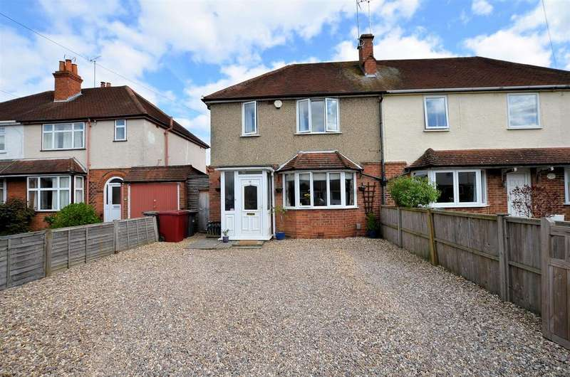 4 Bedrooms Semi Detached House for sale in Bramble Crescent, Tilehurst, Reading