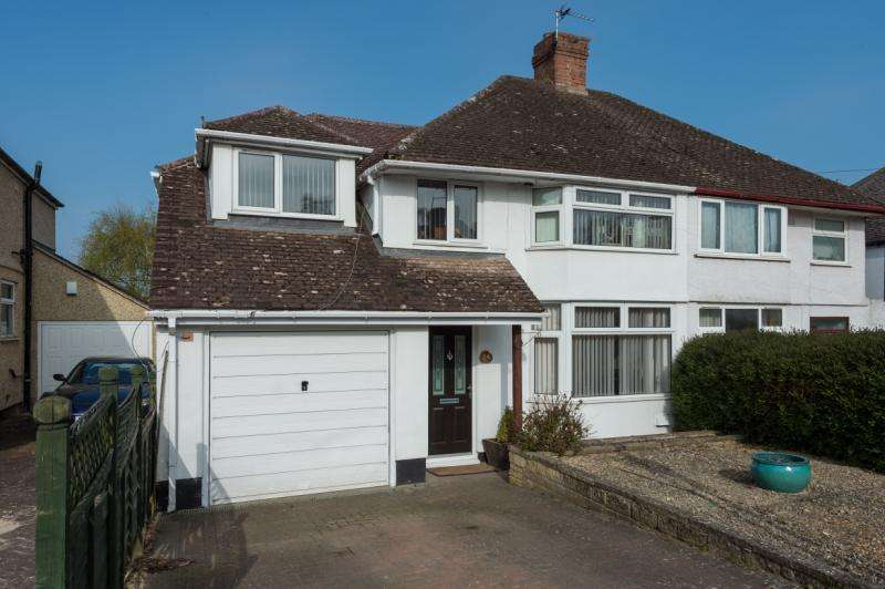 4 Bedrooms Semi Detached House for sale in Netherwoods Road, Headington, Oxford, Oxfordshire