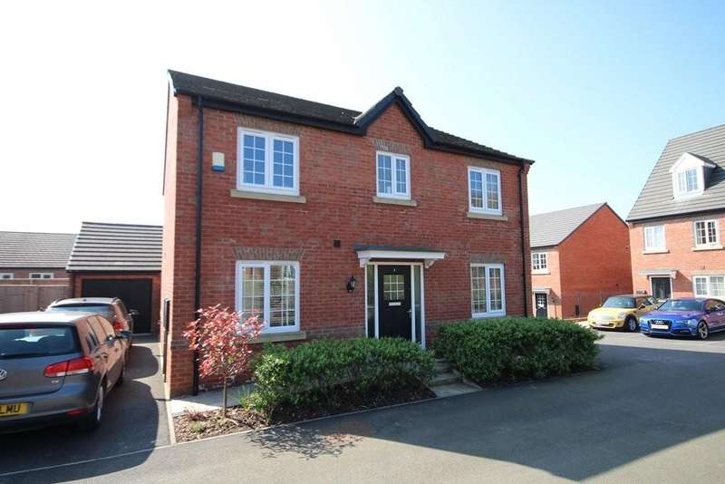 4 Bedrooms Detached House for sale in Burn Close, Great Preston