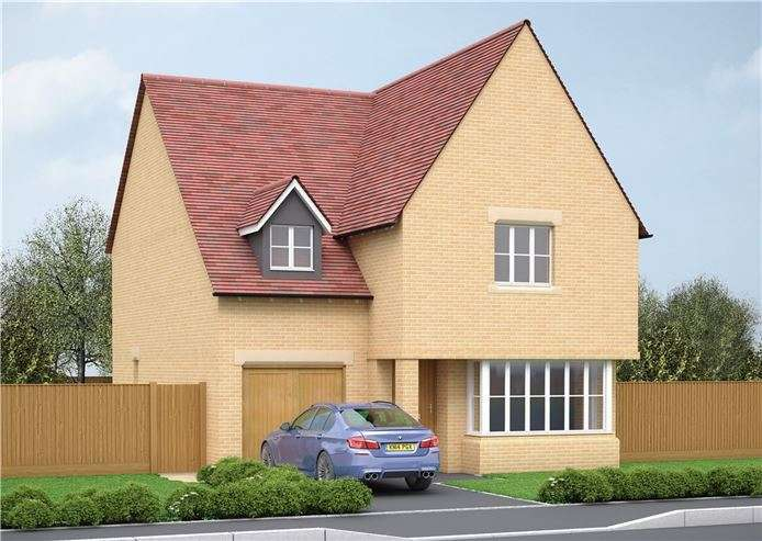 4 Bedrooms Detached House for sale in Plot 63 Victoria Heights, Melbourn