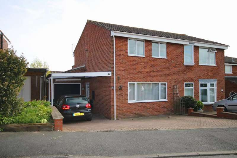 3 Bedrooms Semi Detached House for sale in Blenheim Drive, Ledbury, HR8