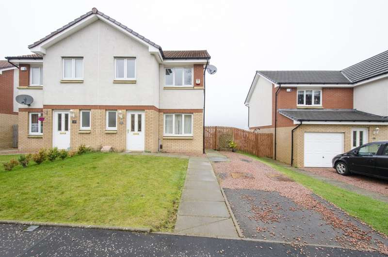 3 Bedrooms Semi Detached House for sale in Trossachs Road, Glasgow, South Lanarkshire, G73