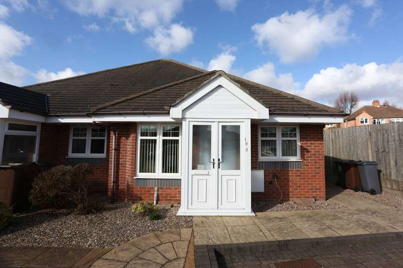 2 Bedrooms Bungalow for sale in Charlotte Gardens, Solihull, West Midlands, B90