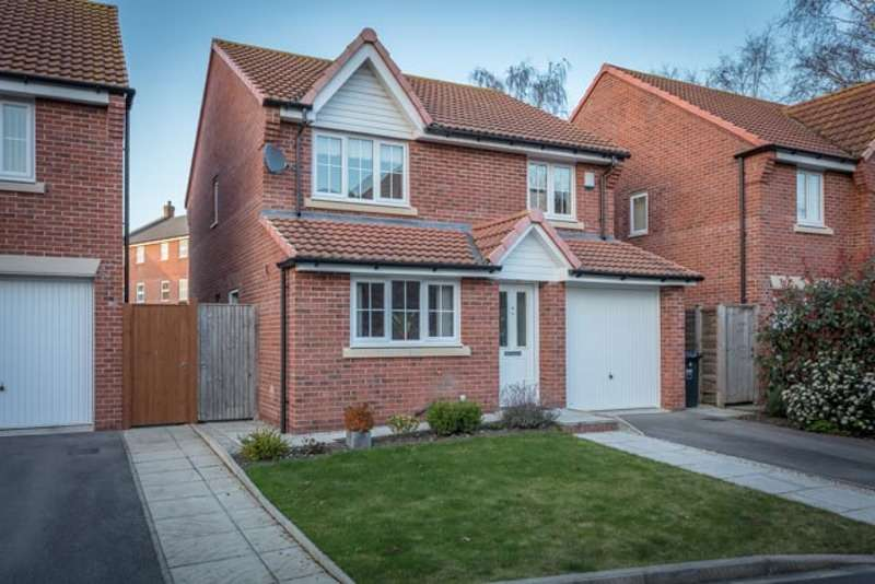 4 Bedrooms Detached House for sale in Coupland Close, Selby, North Yorkshire, YO8