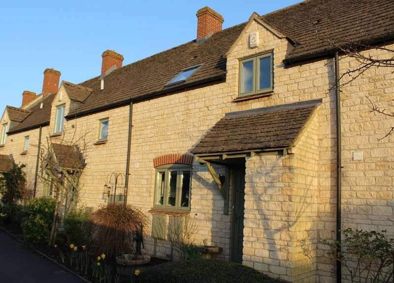 3 Bedrooms Terraced House for sale in Jubilee Close, Middletown, Witney, Oxfordshire, OX29