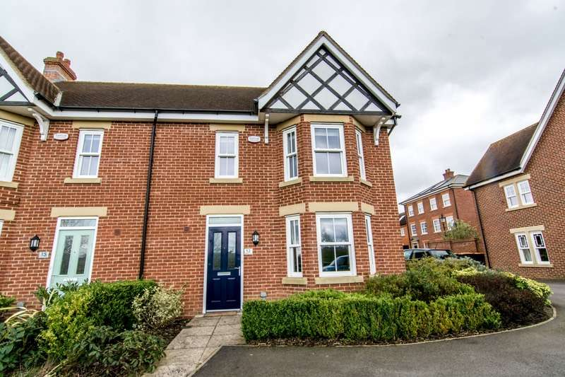 4 Bedrooms Semi Detached House for sale in Masters Close, Bedford, Bedfordshire, MK40