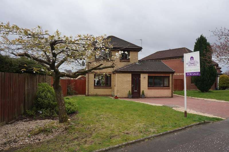 4 Bedrooms Detached House for sale in Whitelees Road, Whitelees, Cumbernauld G67