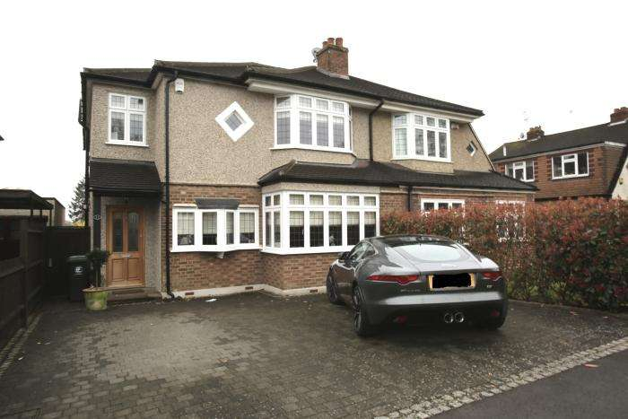 4 Bedrooms Semi Detached House for sale in WOODLAND WAY, THEYDON BOIS, THEYDON BOIS CM16