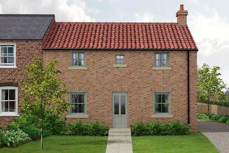 3 Bedrooms Semi Detached House for sale in The Smithy, North End, Raskelf, York