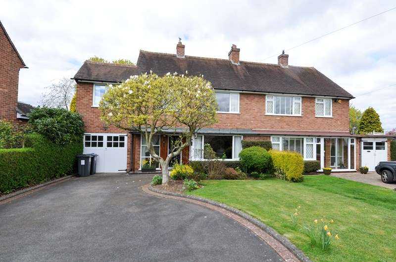 4 Bedrooms Semi Detached House for sale in Green Meadow Road, Selly Oak, BOURNVILLE VILLAGE TRUST