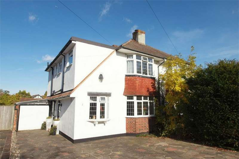 3 Bedrooms Semi Detached House for sale in Worcester Close, Shirley, Croydon, Surrey